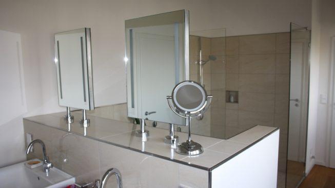 Badgestaltung in einem Neubau in Legden