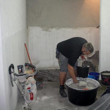Putzarbeiten in Schöppingen