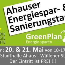 Ahauser Energiespar- und Sanierungstage