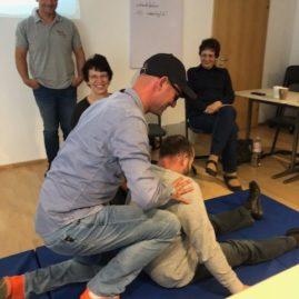 Erste-Hilfe-Schulung absolviert